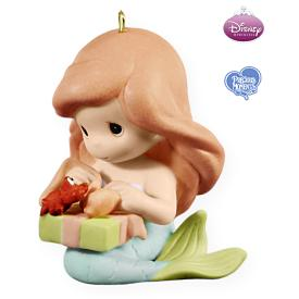2009 Disney - Ariel And Sebastian Hallmark Ornament