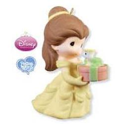 2009 Disney - Belle And Chip - Limited Hallmark Ornament