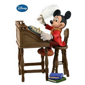2009 Disney - Mickey As Bob Cratchit #1 Hallmark Ornament