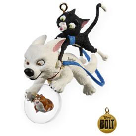 2009 Disney - One Unlikely Team - Bolt Hallmark Ornament