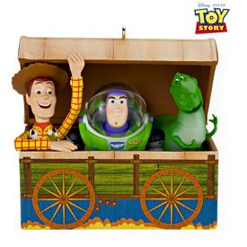 2009 Disney - Toy Story - Time To Play Hallmark Ornament