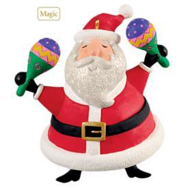 2009 Feliz Navidad - Sound Hallmark Ornament