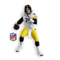 2009 Football Ben Roethlisberger - Super Bowl - Ltd Hallmark Ornament