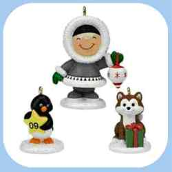 2009 Frosty Friends - Christmas Fun With Friends Hallmark Ornament