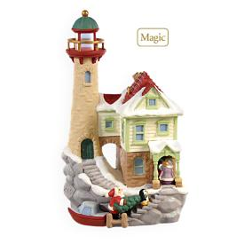 2009 Lighthouse Greetings #13f Hallmark Ornament