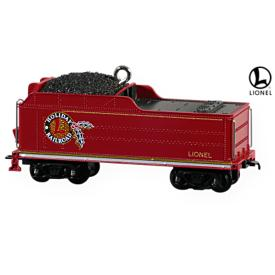 2009 Lionel -   Holiday Red Mikado Tender Hallmark Ornament