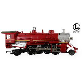 2009 Lionel -   Holiday Red Mikado Hallmark Ornament