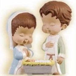 2009 Mary's Angels Nativity - A Newborn Blessing Hallmark Ornament