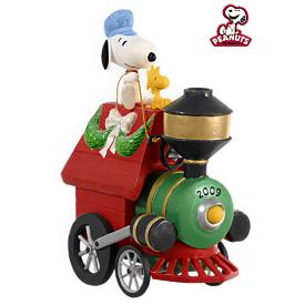 2009 Peanuts - All Aboard For Holiday Fun Hallmark Ornament
