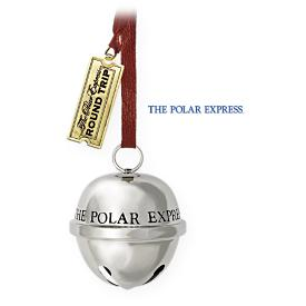 2009 Polar Express - Santa's Sleigh Bell Hallmark Ornament