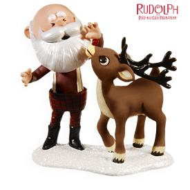 2009 Rudolph - Santa's Bright Idea Hallmark Ornament