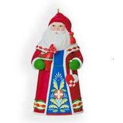 2009 Santas From Around The World - Sweden - Ltd Hallmark Ornament