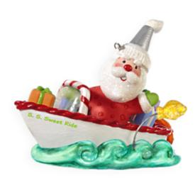 2009 Santa's Sweet Ride #3 Hallmark Ornament