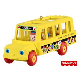 2009 School Bus - Fisher Price Hallmark Ornament