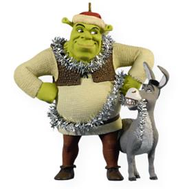 2009 Shrek - Christmas Chaos Hallmark Ornament