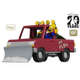 2009 Simpsons - Mr Plow Hallmark Ornament