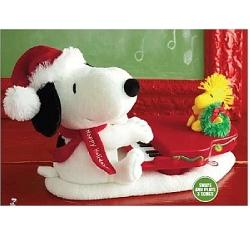 2009 Snoopy - Swingin With Snoopy - Animated Musical Hallmark Ornament