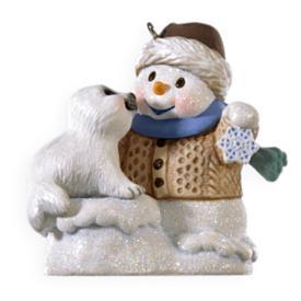 2009 Snow Buddies #12 - Seal Hallmark Ornament