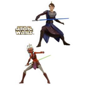 2009 Star Wars - Anakin Skywalker And Ahsoka Tano Hallmark Ornament