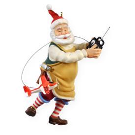 2009 Toymaker Santa #10 Hallmark Ornament