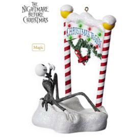 2009 Welcome To Christmas Town Hallmark Ornament