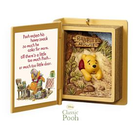 2009 Winnie The Pooh Book #12f - A Snack For Pooh Hallmark Ornament