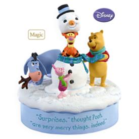 2009 Winnie The Pooh - Snowman Surprise Hallmark Ornament
