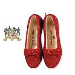 2009 Wizard Of Oz - Ruby Slippers - Limited Hallmark Ornament