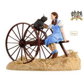 2009 Wizard Of Oz - Somewhere Over The Rainbow - MNT Hallmark Ornament