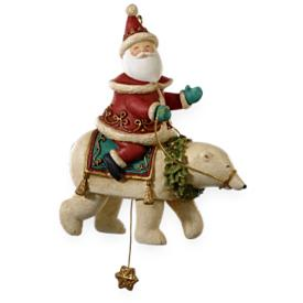 2009 Yuletide Treasures #4 - Santa's Magical Bear Hallmark Ornament