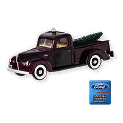 2010 All American Trucks #16 - 1940 Ford Pickup Hallmark Ornament