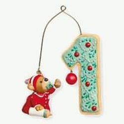 2010 Baby's 1st  Christmas - Age Hallmark Ornament
