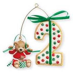 2010 Baby's 2nd Christmas - Age Hallmark Ornament