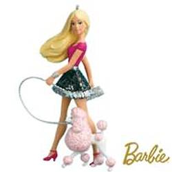 2010 Barbie - A Posh Pair! - Poodle Hallmark Ornament