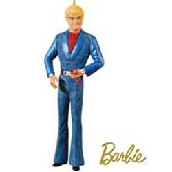 2010 Barbie - Superstar Ken Hallmark Ornament