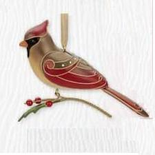 2010 Beauty Of Birds  - Lady Cardinal Limited Hallmark Ornament