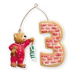 2010 Child's 3rd Christmas - Age Hallmark Ornament