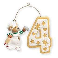 2010 Child's 4th Christmas - Age Hallmark Ornament