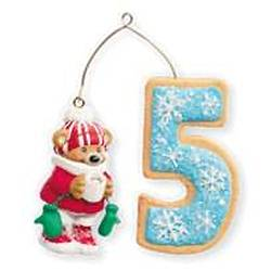 2010 Child's 5th Christmas - Age Hallmark Ornament