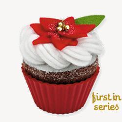 2010 Christmas Cupcakes #1 - Oh So Sweet Hallmark Ornament