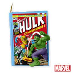 2010 Comic Book Heroes #3 - The Incredible Hulk And Wolverine Hallmark Ornament
