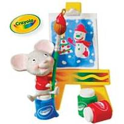 2010 Crayola - A Cheery Masterpiece Hallmark Ornament
