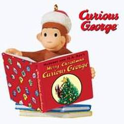 2010 Curious George - Merry Christmas Hallmark Ornament