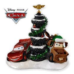 2010 Disney - Cars - Piston Cup Tire Tree Hallmark Ornament