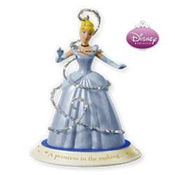 2010 Disney - Cinderella - Bippity Boppity Boo Hallmark Ornament