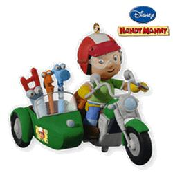 2010 Disney - Handy Manny Hallmark Ornament