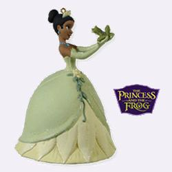 2010 Disney - Just One Kiss - The Princess And The Frog Hallmark Ornament