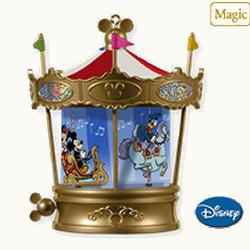 2010 Disney - Mickey's Merry Carousel Hallmark Ornament