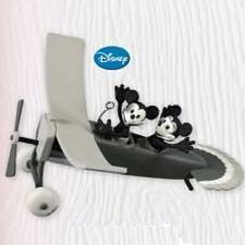 2010 Disney - Plane Crazy - Limited Hallmark Ornament