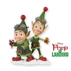 2010 Disney - Prep And Landing Hallmark Ornament